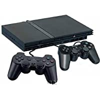 ps2 console with 30 games and 2 controllers