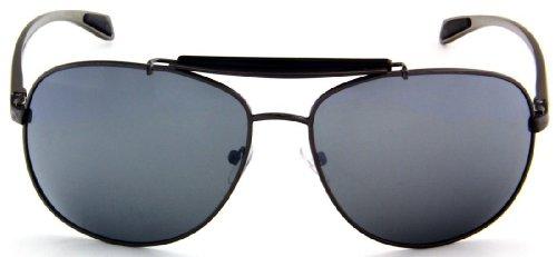 Sturgeon Polarized Aviator Titanium Sunglasses Spring Hinge w/ Free Pouch-Polished Gun - Sturgeon Sunglasses