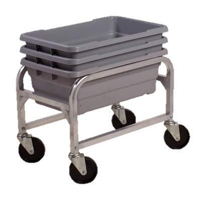 Winco Lug/Dish Box Cart 16-3/4''W x 25-1/16''D x 19''H