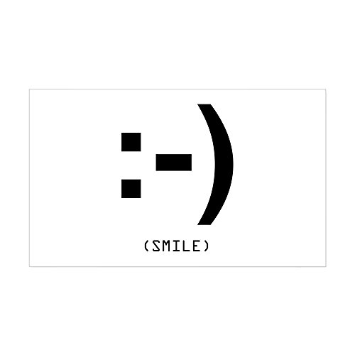 CafePress - Smile Rectangle Sticker - Rectangle Bumper Sticker Car Decal