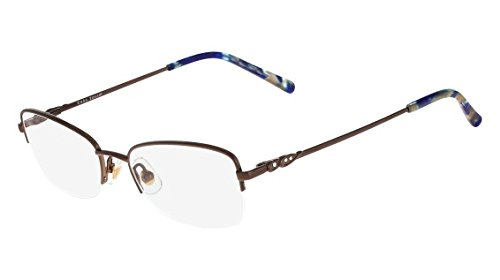 Eyeglasses MARCHON TRES JOLIE 162 229 CHOCOLATE from MarchoNYC