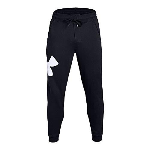 Under Armour UA Rival Fleece Fitted Joggers LG Black