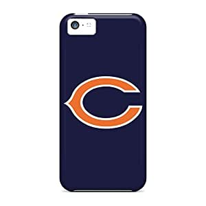 Iphone 5c UwL17860xKwF Customized Colorful Chicago Bears 3 Pattern Scratch Resistant Hard Phone Covers -DannyLCHEUNG