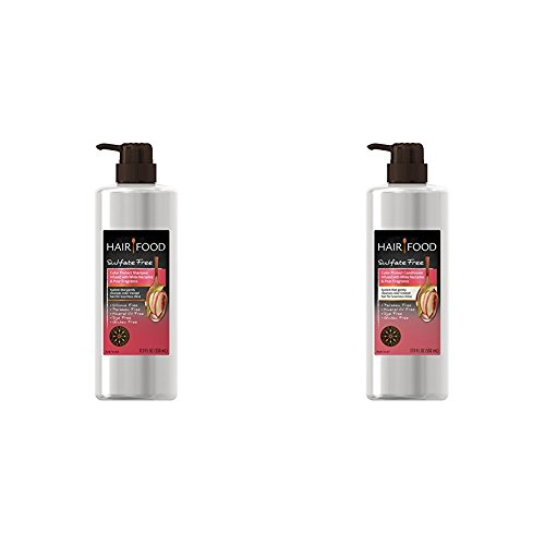 Hair Food Shampoo and Conditioner Kit, Sulfate Free, Color Protect, Nectarine & Pear Fragrance, 17.9 FL OZ Bundle Pack