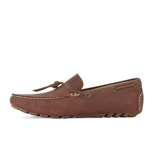 Red Lucky Men's Brown Brand Wagner Loafer In6HAP