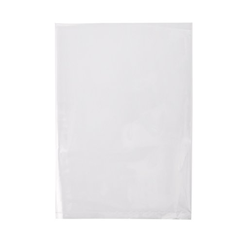 Owlpack 2 Mil Poly Bag with Open End for Product Display, Goodie Bags, and Baking and Proving (5 x 7 Inches, Pack of 100) -