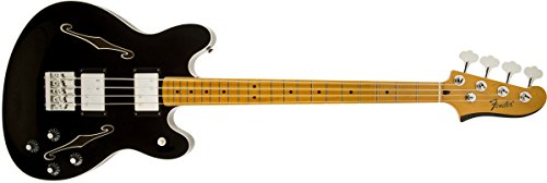 Fender Modern Player Starcaster Bass, MN, Black