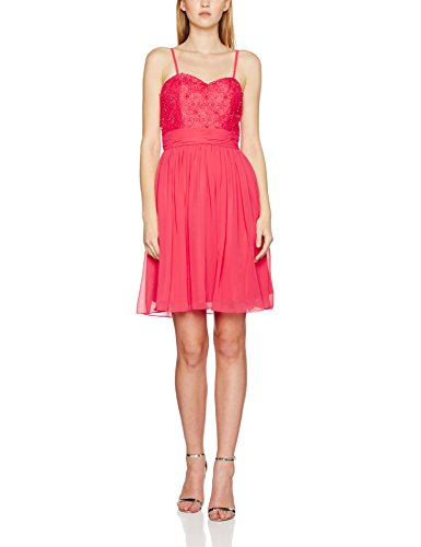 Damen Shell Partykleid Laona Pink Rosa RqxtaCw