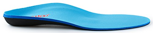 Orthotic Shoe Insoles for Flat Feet by NAZAROO, Shoe Inserts for Plantar Fasciitis, Relieve Feet Pain, Heel Pain and Pronation for Men and Women (US Mens 8-8.5 | Womens 10-10.5) by NAZAROO (Image #3)