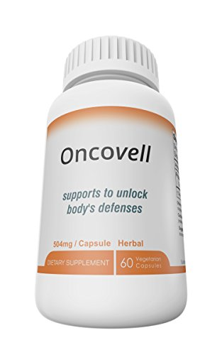 Oncovell Powerful Herbal Supplement for Immune System Support. [Highest Potency and Bioavailability ],Ultimate Fighting Power Your Cells Need. 60 Veggie Capsules