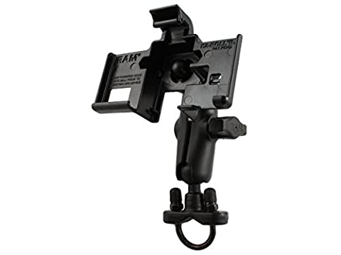 Ram Mount Handlebar Rail Mount with Zinc Coated U-Bolt Base for the Garmin nuvi 3450/3450LM/3490LMT/3750/3760T/3760LMT/3790T/ 3790LMT