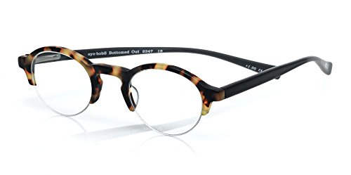 Eyebobs 2347 'Bottomed Out' Designer Reading Glasses in Black & Tortoise (19) +1.50