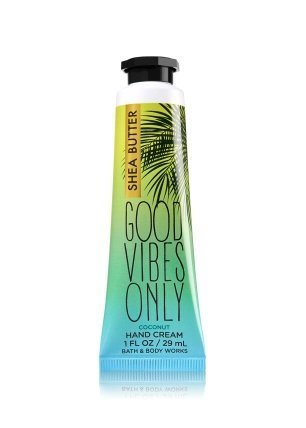 (Bath & Body Works Shea Butter Hand Cream Good Vibes Only Coconut)
