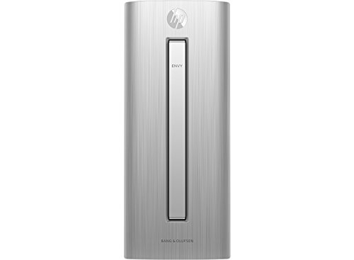 HP - Envy Desktop - Intel Core i5-12GB Memory - 128GB Solid State Drive + 1TB HD - Black/Silver