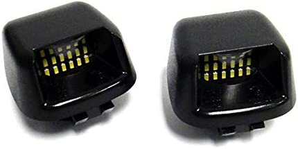 2x LED Licence Number Plate Light White Canbus For 2008-2020 NP300 Navara D40 Truck