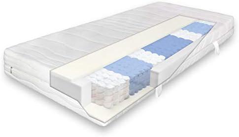 Verapur Ortho Plus Matratze Taschenfederkern Höhe 23 cm 7 Zonen H2 H3