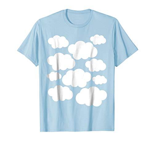Halloween Costume Shirt - White Clouds -