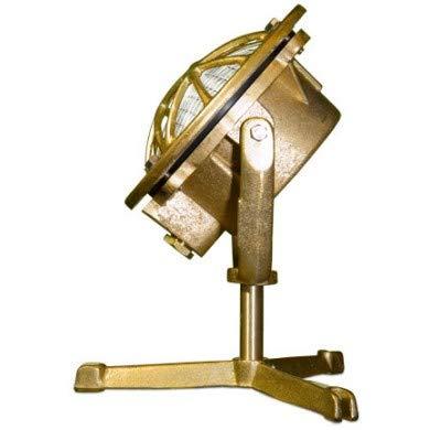 DABMAR LIGHTING LV325-BS Solid Brass Pond/Fountain Underwater Light, Brass