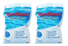 ZeoSand Filtro Media–medios de filtro de repuesto para filtros de arena