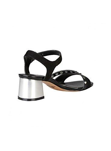 Ana Lublin - ZELIA Sandalias De Vestir Para Mujer Con Correa De Tobillo Ajustable Tacón 5 cm Negro