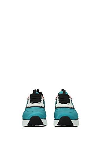 Prada 3e6321nylon Nylon Celeste Eu Mujer Sneakers Hw1qOxRw4
