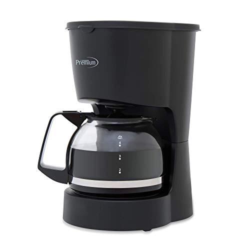 Premium 4 Cup Coffee Maker  PCM5422B, Black