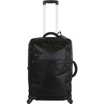 Lipault Paris Upright 4 Wheeled Carry Suitcase, Black, 26x17x10