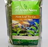 Neem Leaves Course Ground Tea Cut Organic 16 oz, Wild Harvested Slow Dried Under Shade, Loose, Green, Great for Tea or Making Your Own Neem Leaf Extract!