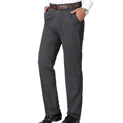 Pantaloni Casual Trekking Da Uomo Completo Comodi Coulisse Grau Con Lavoro Jogging Dritti Nuovi rPv5rpqn