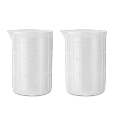 Vaso de silicona para medir resina 300ml 2 unidades