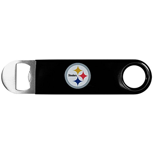 NFL Pittsburgh Steelers Long Neck Bottle Opener, Black at Steeler Mania