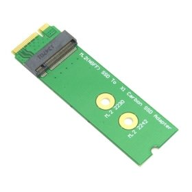 - ChenYang Mini PCI-E 2 Lane M.2 NGFF 30mm 42mm SSD to Lenovo X1 Carbon Ultrabook SSD Add on Cards PCBA