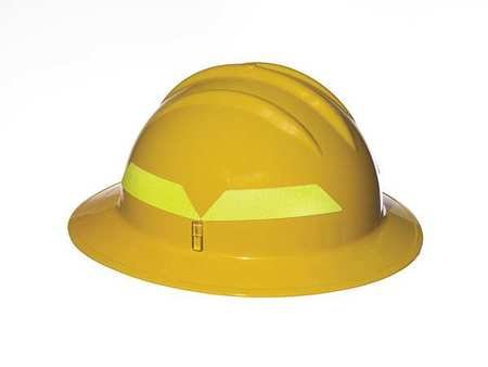 Fire Helmet, Yellow, Full-Brim by Bullard (Image #1)