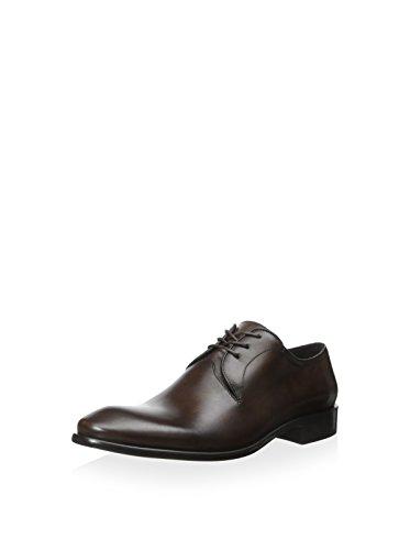 (John Varvatos Men's Brown Leather Oxfords Size 9 )