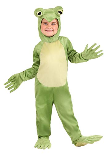 Kids Frog Costumes (Toddler Deluxe Frog Costume 4T)