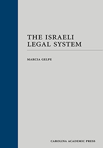 The Israeli Legal System