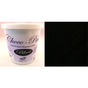 Choco-Pan Rolled Fondant Icing Black 2 Pounds -