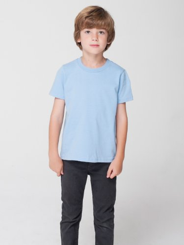 American Apparel Toddlers Fine Jersey Short-Sleeve T-Shirt (2105) -LEMON -4T by American Apparel (Image #2)