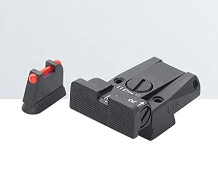 Amazon com : LPA SIGHTS Sight Set for CZ 75/75B/85, P07 Duty