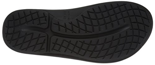 Post Recovery Oofos Thong Run Black Sport Sandal Ooriginal Unisex XrXxvqtR