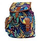 Bag2Bag - mochila niña unisex - adultos Mujer Unisex, niños Blue/Teal