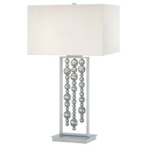 Table Kovacs 2 Lamp George - George Kovacs P762-077 Two Light Table Lamp, 34