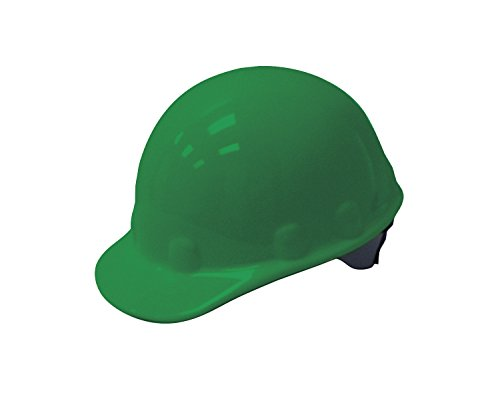 Fibre-Metal by Honeywell E2SW74A000 Super Eight Swing Strap Cap Style Hard Hat, Green