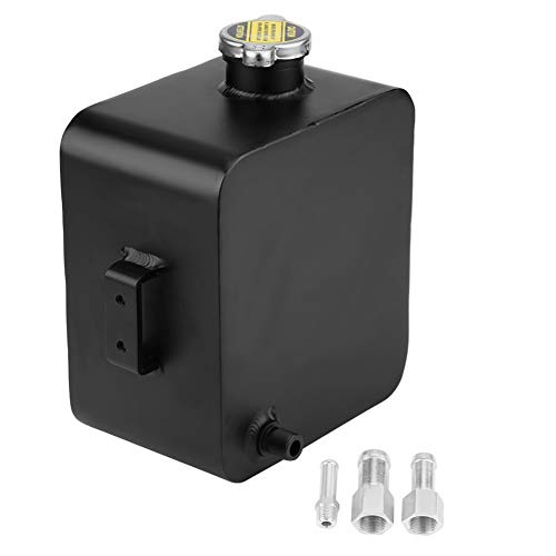 Acouot Universal 2.5L Coolant Expansion Overflow Water Tank Reservoir Complete - 17 Overflow Tank Polished