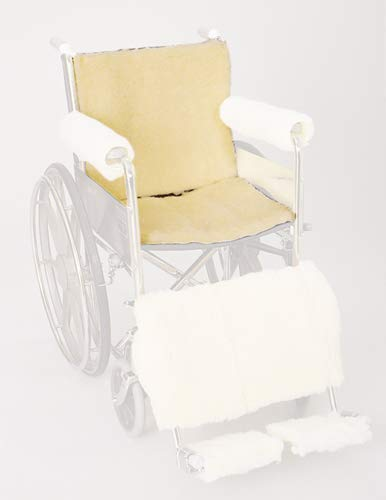 (Skil-care Corp. Synthetic Sheepskin Wheelchair Seat & Backrest Pads, 1 Pound)