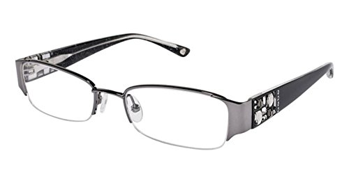 Bebe Eyeglasses Frames - BEBE EYEGLASSES BB 5015 BLACK BLACK DIAMOND AMOROUS