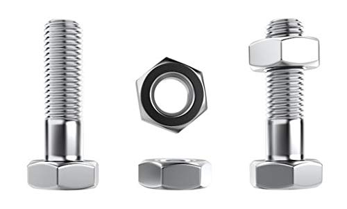 10 Pieces Stainless Steel 316 A4 5//16-18 x 1 1//2 UNC Hex Head Bolt F593 and F594 Nut US Stainless