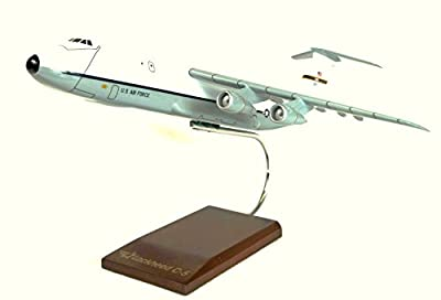 Mastercraft Collection Lockheed C-5A Galaxy White-Gray Largest Military Transport Aircraft Strategic Airlifter USAF Air Force Model Scale:1/247