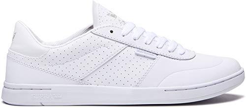 (Supra Men's Elevate Shoes,12,White-White)