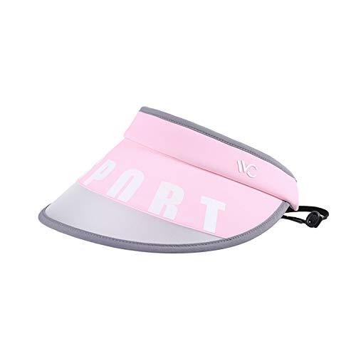 VVC Sun Hats for Women Summer UV&UPF Protection Visor Beach Cap Korean Star Edition(Pink) ()